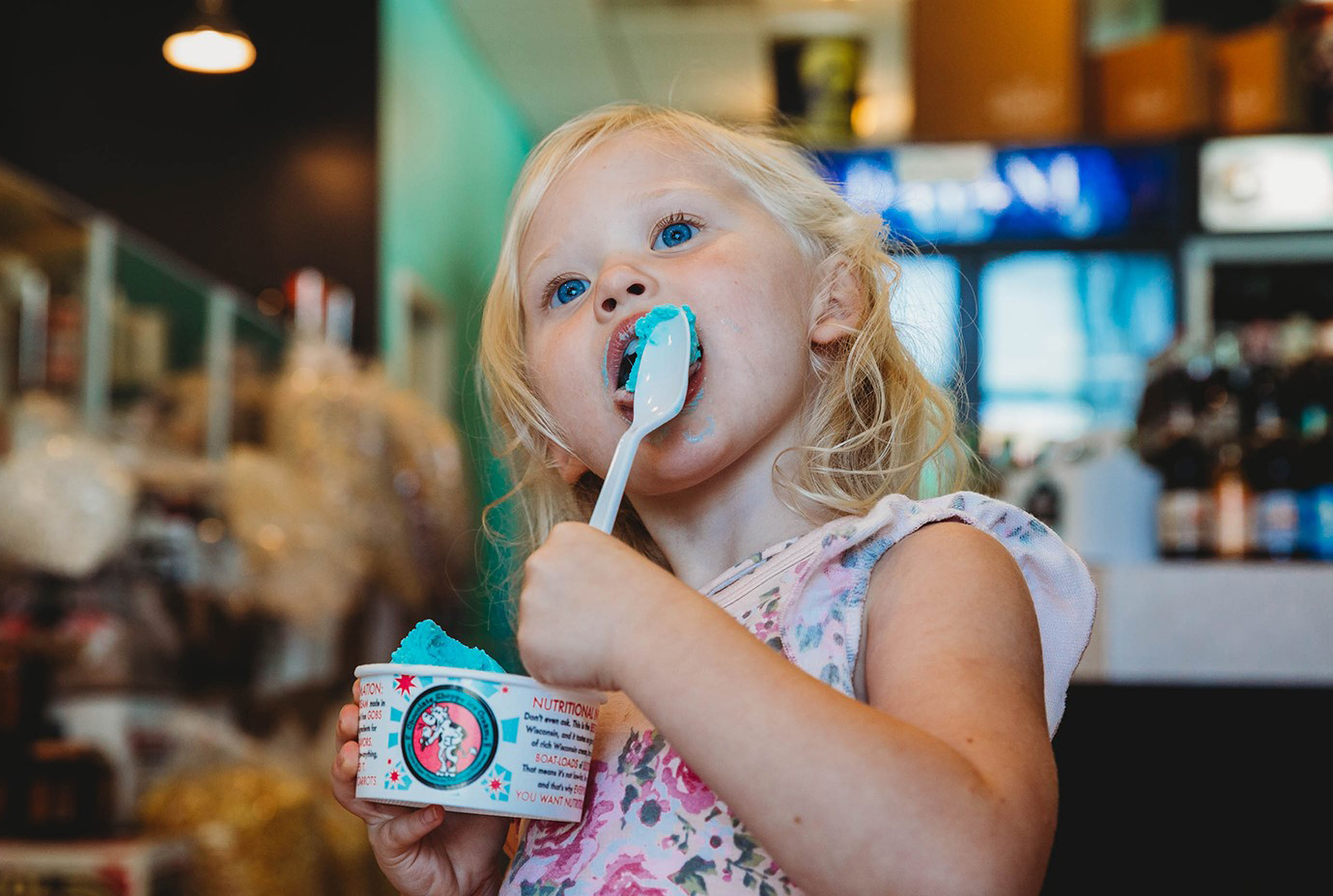 hand-dipped, super premium Wisconsin-made ice cream
