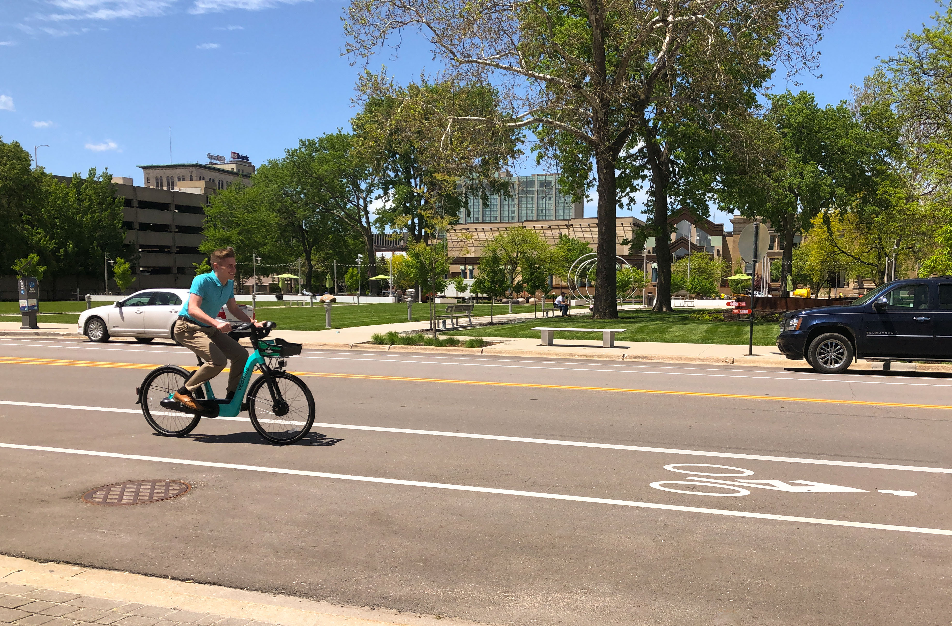 Cedar Rapids Veoride Bike Share Program