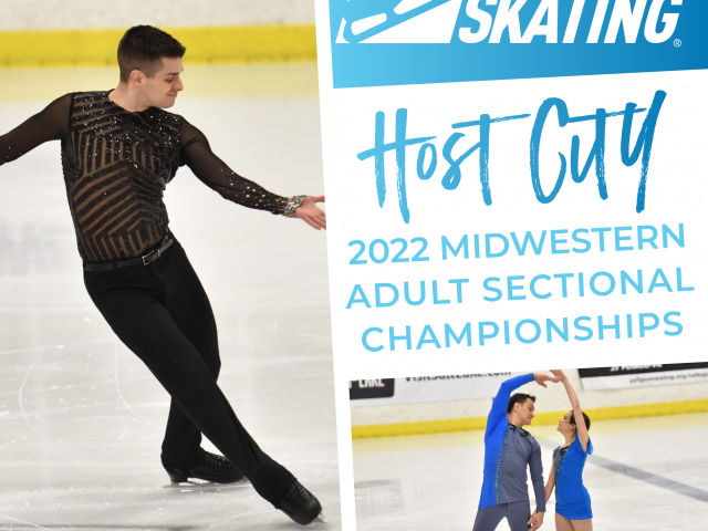 Cedar Rapids to host 2022 U.S. Figure Skating Midwestern Adult Sectional Championships