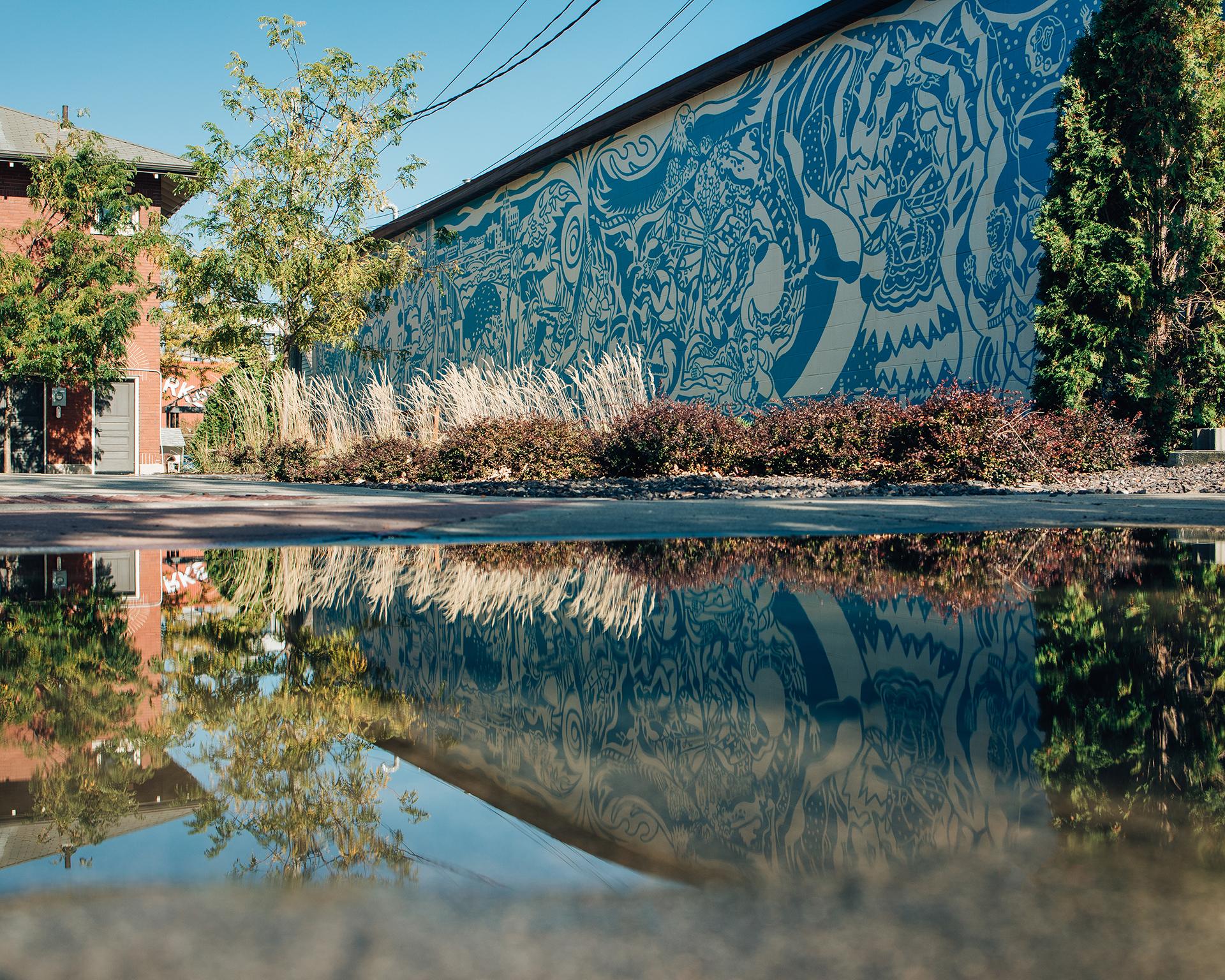 Cedar Rapids public art mural