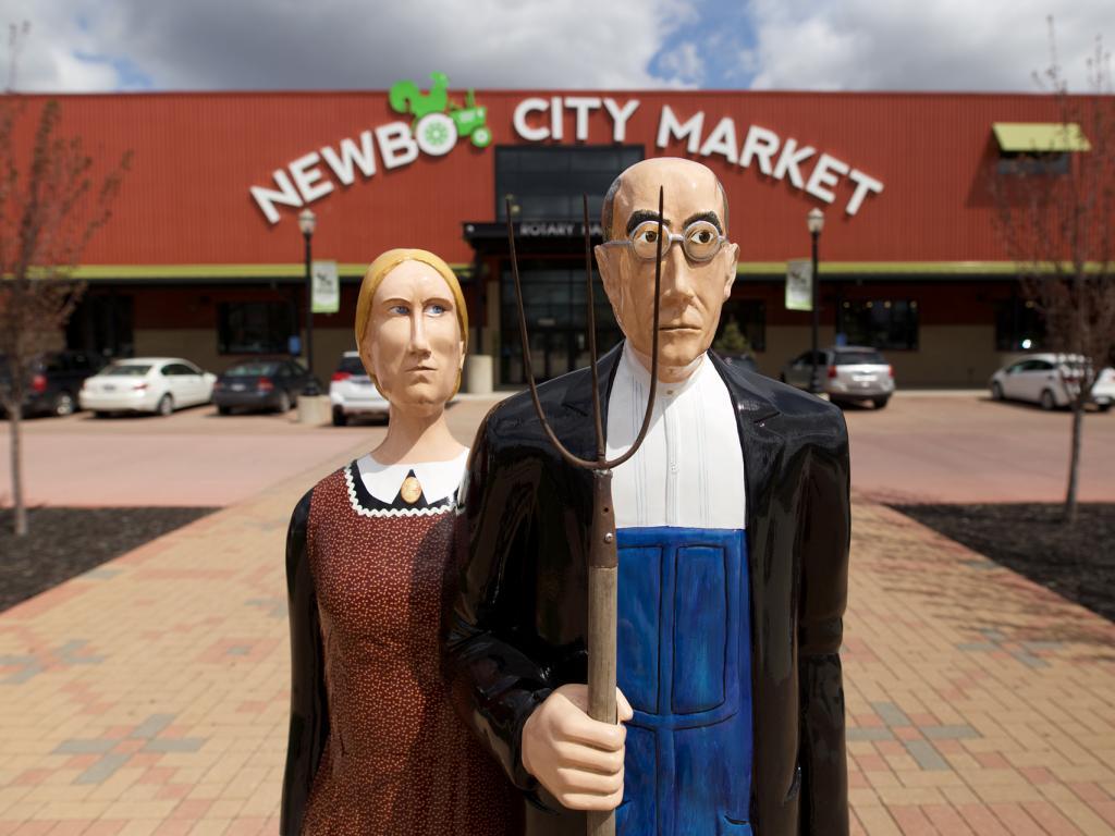 American Gothic In Cedar Rapids