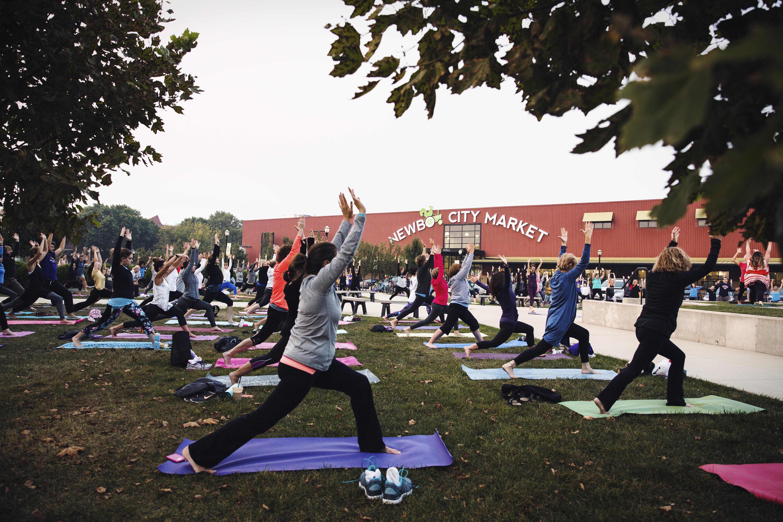 NewBo City Market Yoga