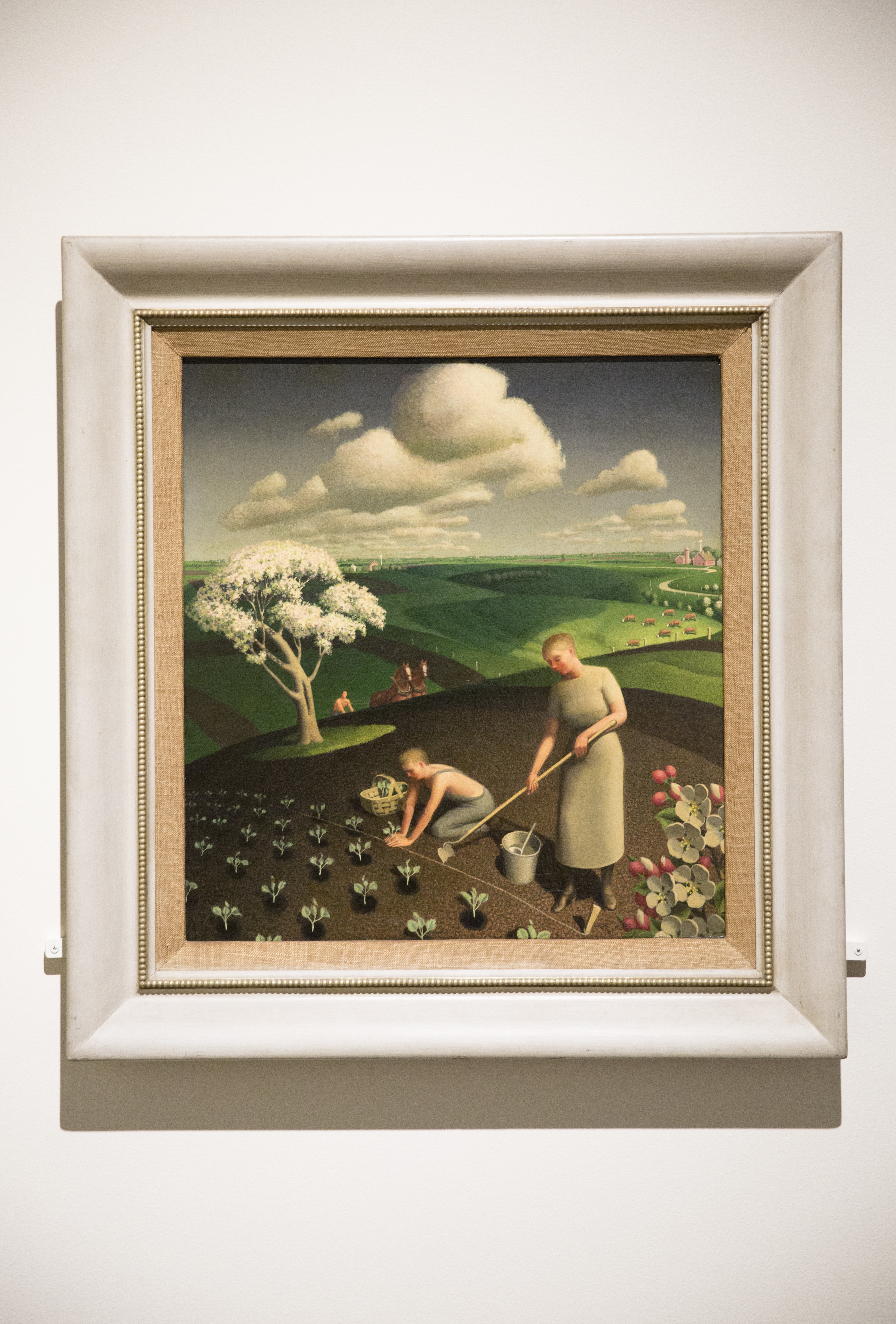 a Grant Wood painting