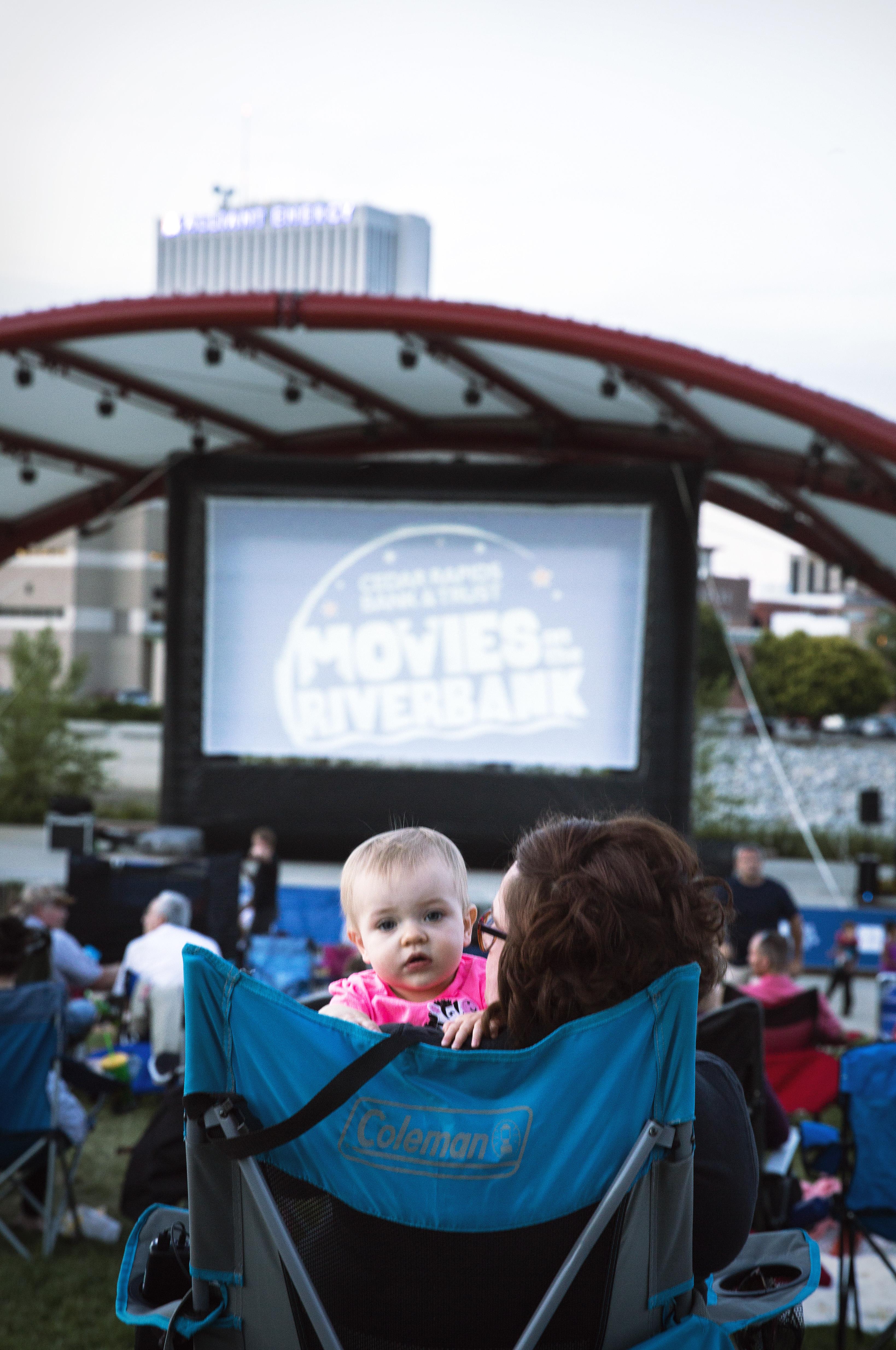 kids movie outdoors Cedar Rapids
